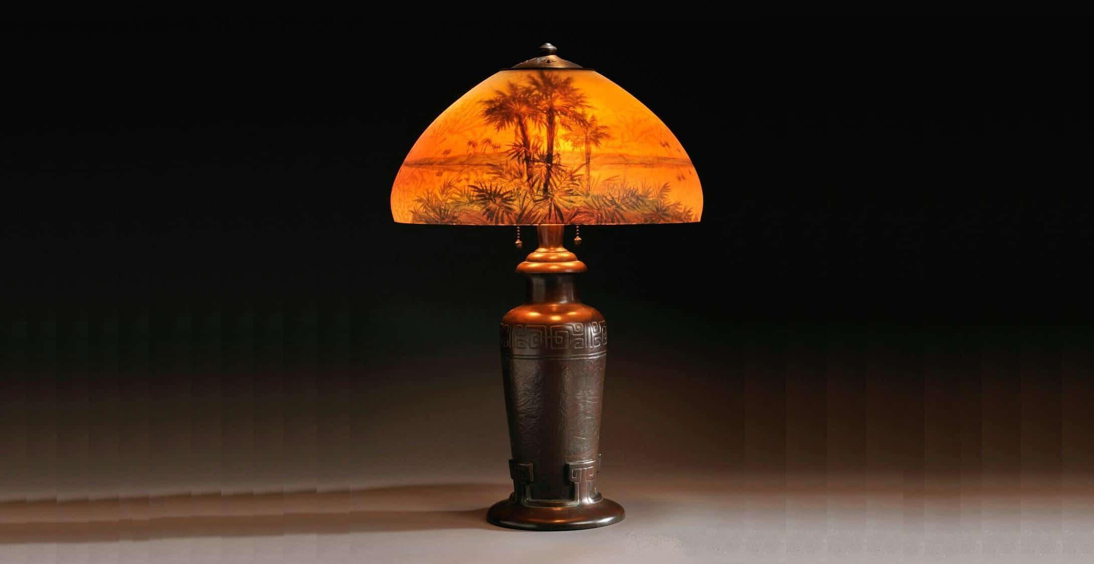 lámpara encontrada en un vaciado de pisos