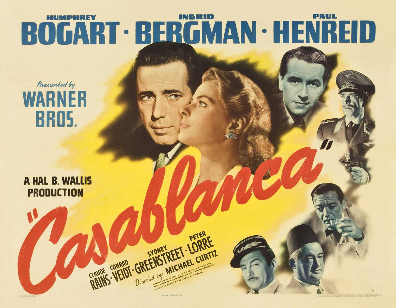 vaciado pisos Barcelona mostrando Uno-de-los-carteles-de-Casablanca