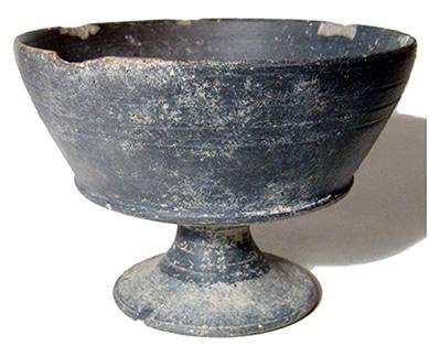 Cerámica antigua. Bucchero. Origen etrusco