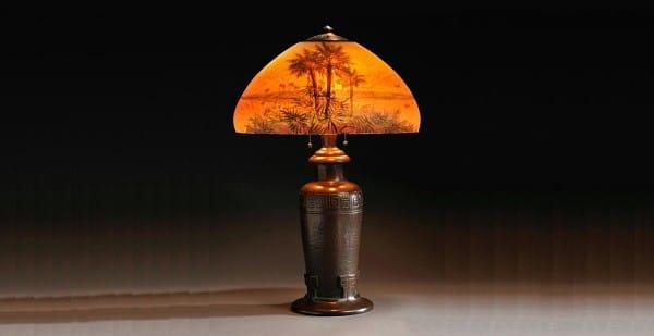 lámpara hallada en los vaciados de pisos