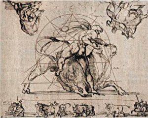 dibujo francés vaciado de pisos Théodore Géricault